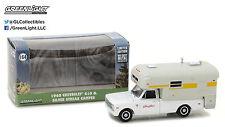 1:64 GreenLight *HOBBY EXCLUSIVE* 1968 Chevrolet C10 w/SILVER STREAK CAMPER NIB