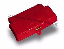 NEW HONDA TRX 350 4X4 86 - 89 RED PLASTIC BATTERY / ELECTRICAL COVER PLASTICS