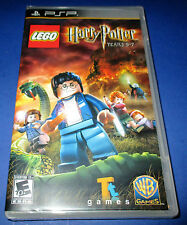 LEGO Harry Potter: Years 5-7 Sony PSP *Factory Sealed! *Free Shipping!