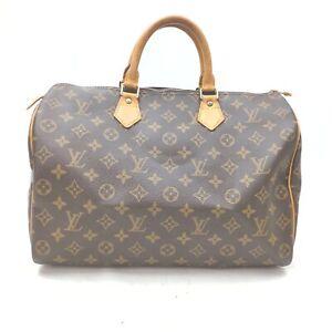 Louis Vuitton Hand Bag Speedy 35 M41524 Browns Monogram 402473