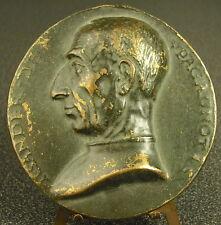 Médaille Alexander de Pagagnotis médailleur italien XVI bruciatore italia Medal