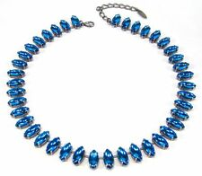 Modeschmuck-Halsketten & -Anhänger im Collier-Stil aus Gemischte Metallen mit Marquise/Navette