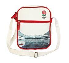 Bolsa de vuelo oficial Inglaterra RFU Rugby Unión Hombro Mensajero De Escuela Niños Para Hombre