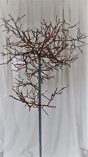WANDPANEEL ANTIK-braun Lebensbaum WANDDEKORATION in HERZFORM ca.60cm EISEN HERZ
