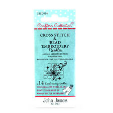 John James Crafters Collection Cross Stitch & Bead Embroidery Needles