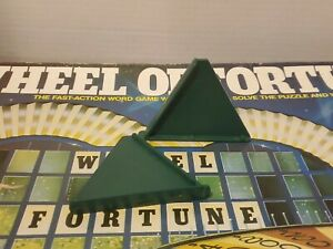 1986 Wheel of Fortune Board Game Replacement PART LEG / STAND (2) AUTHENTIC