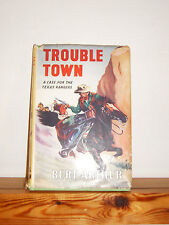 Vintage 1951 HB western in DW ''Trouble Town'' by Burt Arthur