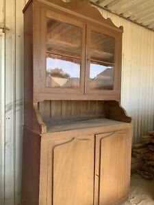 Antique Shield Door Cupboard