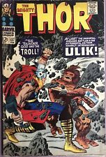 Thor #137 Fine Silver Age Marvel Cents Book February 1967 Kirby Cover