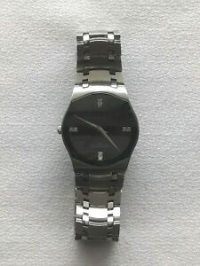 Mens Wittnauer Dress Watch With 8 Diamonds On Face (Swiss Made) (Working)