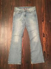 Lucky Brand Iris Sweet N' Low Denim Blue Jeans Womens Juniors Size 6/28 Regular
