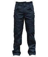New Police Male Cargo Trousers Black Tactical Patrol Dog Handler D3N