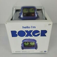 Hello Im Boxer Tiny Bot Robot App Controlled RC Remote Control Blue