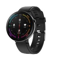 OLED Display Bluetooth Smartwatch DT18 Pulsuhr Armband IP67 wasserdicht Huawei