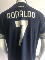 #7 Ronaldo 20/21 Juventus Away Football Soccer Jersey Men's Jersey XL