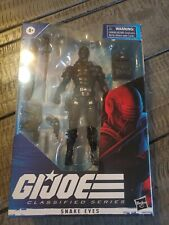 "Hasbro GI Joe Classified Series Snake Eyes 6"" Action Figure New In Package"