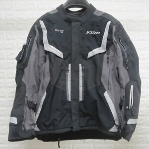 Klim Badlands Pro Waterproof Gore-Tex Motorcycle Motorbike Jacket - Grey - 2XL