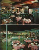 Vintage JULIE'S Restaurant Post Card Los Angeles California 1962