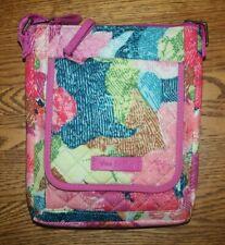Vera Bradley RFID Mini Hipster Superbloom crossbody wallet travel pink NWT