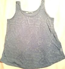 Maurices Womens Tank Top Size L Sheer