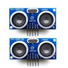 2 Pcs HY-SRF05 / HC-SR05 Precise Ultrasonic Range Sensor Module for Arduino