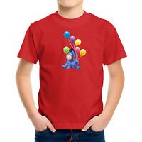 Toddler Kids Tee Youth T-Shirt Winnie the Pooh Eeyore Gloomy Donkey Cute Balloon