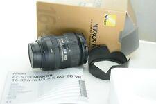Nikon AF-S Nikkor 16-85 mm 1:3,5 - 5,6 g ed DX VR, embalaje original (box)