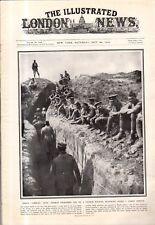 1916 London News October 28 - Nurse Cavell memorial; Prisoners of the Turks