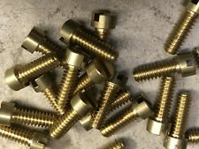 SU CARBURETTOR DASHPOT SCREWS AUSTIN MORRIS MGA MGB ASTON MARTIN RILEY ALVIS AC