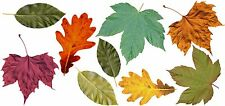 FALL LEAVES CANVAS Wall Decals REMOVEABLE CANVAS