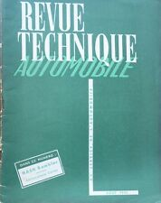 Revue technique NASH RAMBLER RTA 76 1952 + CARBURATEURS CARTER