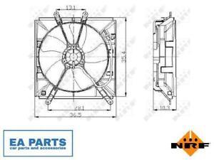 Fan, radiator for TOYOTA NRF 47016