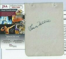 Thomas Mitchell Autographed Album Page JSA Gone With The Wind Hollywood Actor