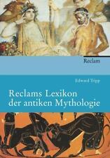 Reclams Lexikon der antiken Mythologie von Edward Tripp (2012, Taschenbuch)