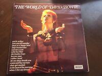 DAVID BOWIE THE WORLD OF DAVID BOWIE VINYL IMPORT DECCA