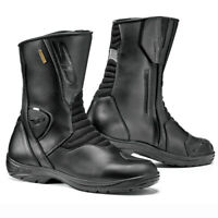 Sidi Gavia Moto Motorcycle Bike Gore-Tex Boots Black