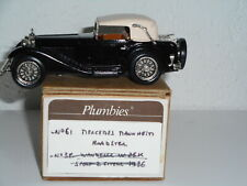 PLUMBIES western models Kit white  métal  1/43 MERCEDES MANNHEIM  roadster