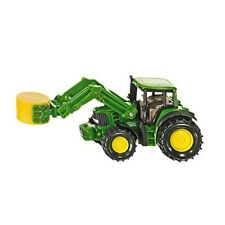 Tractor With Bale Grapple Siku - John Deere Gripper Toy Model 187 Scale Blister