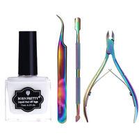 4pcs/set Nail Art Set Kits Cuticle Pusher Manicure Pedicure Tools Born Pretty