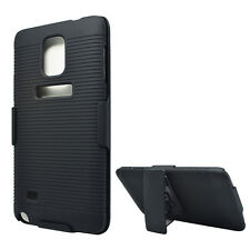 Belt Clip Swivel Kickstand Holster Case Phone Cover for Samsung Galaxy Note 4