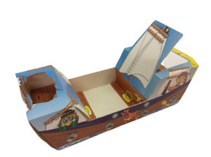 Pirate Ship MEAL TRAY Food Box Birthday party 8 pcs