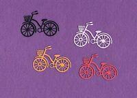 BICYCLE with BASKET die cuts