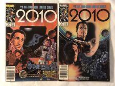2010 Movie Adaptation Nos. 1 and 2 (1985) Marvel VF/NM