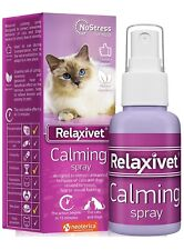 Relaxivet Pheromone Calming Spray for Cats and Dogs (50Ml)