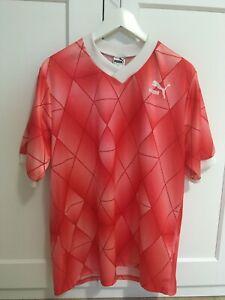 PUMA Netherlands Holland Orange Color L West Germany Classic Retro Shirt Jersey