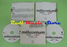 CD MILLENNIUM ITALIA 2 LITFIBA VASCO ROSSI ZUCCHERO NOMADI ALICE FERRO (C3)NO lp