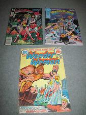 WONDER WOMAN DC COMIC BOOK #215 (1974) # 25 & 26 (1981)  GOOD READER COND.