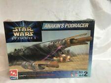 Star Wars Episode 1 Anakin's Podracer AMT ERTL 30122 Model Kit Toy