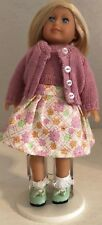 American Girl Mini Doll Kit, Wearing a Pretty Dress, Original Skirt & Sweater