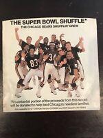 1985 Chicago Bears football Super Bowl Shuffle vinyl record 45  w/ Pict Sleeve